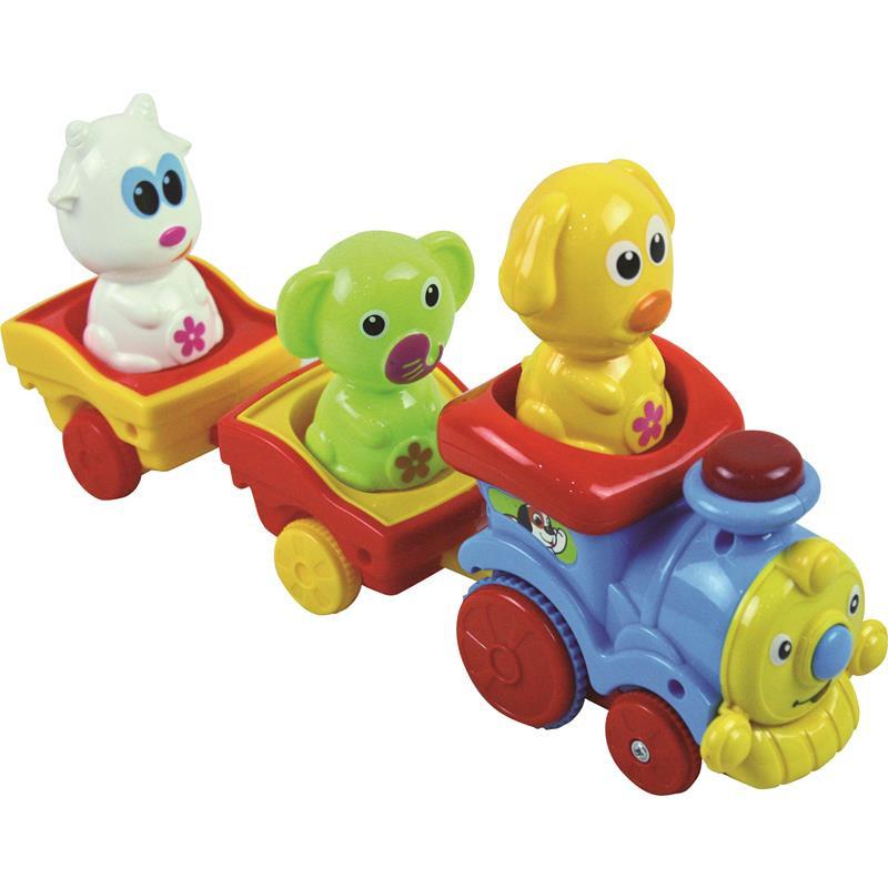 Comboio de animais brinquedo infantil