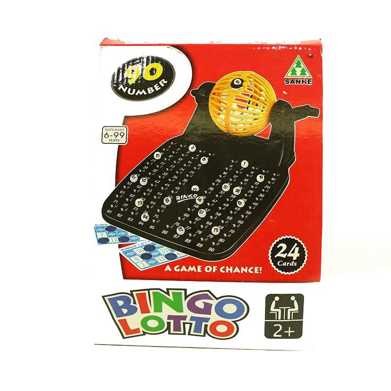 Jogo Bingo com 24 cartões