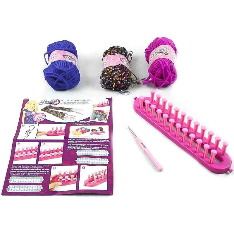 Estúdio de trico para crianças