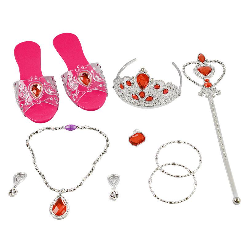 Conjunto beleza 10 peças, com sapatos