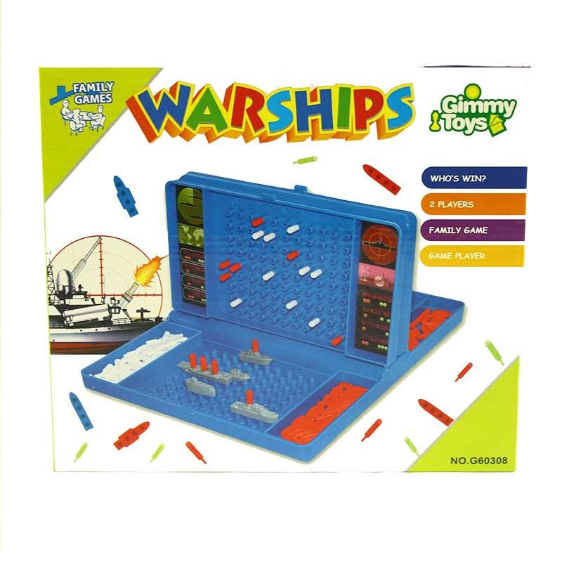 Jogo batalha naval de 22 peças
