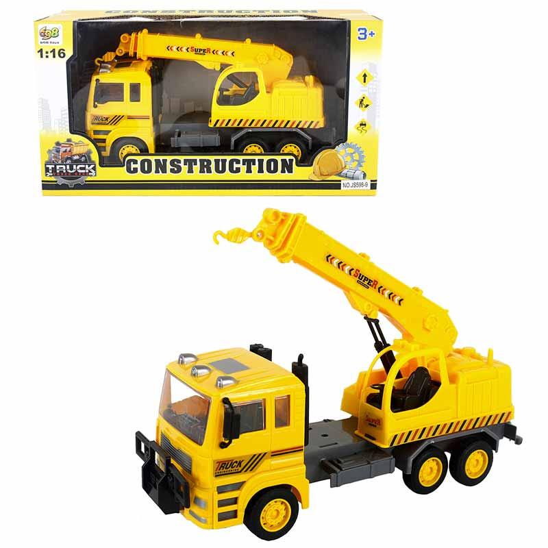 Camião construção 31x9x14cm