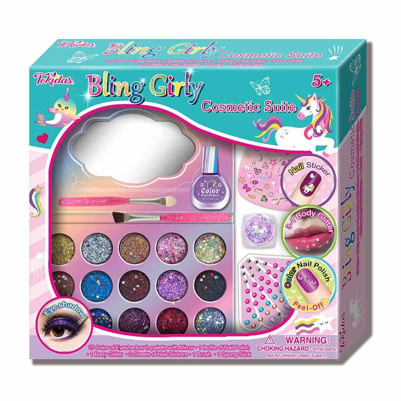 Conjunto cosmética Bling Girly
