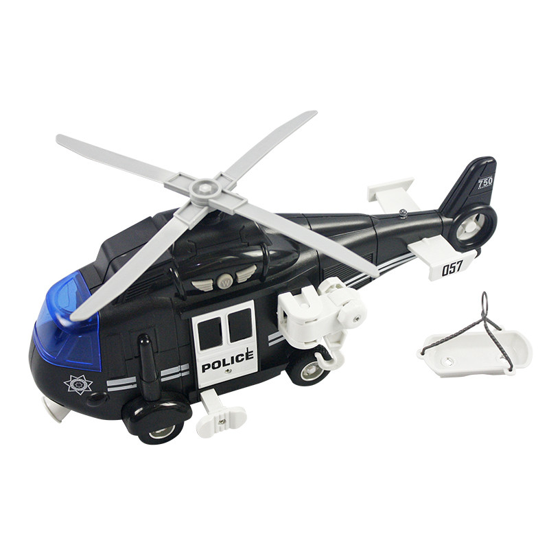 Helicóptero resgate 27,5cm Luz e Sons