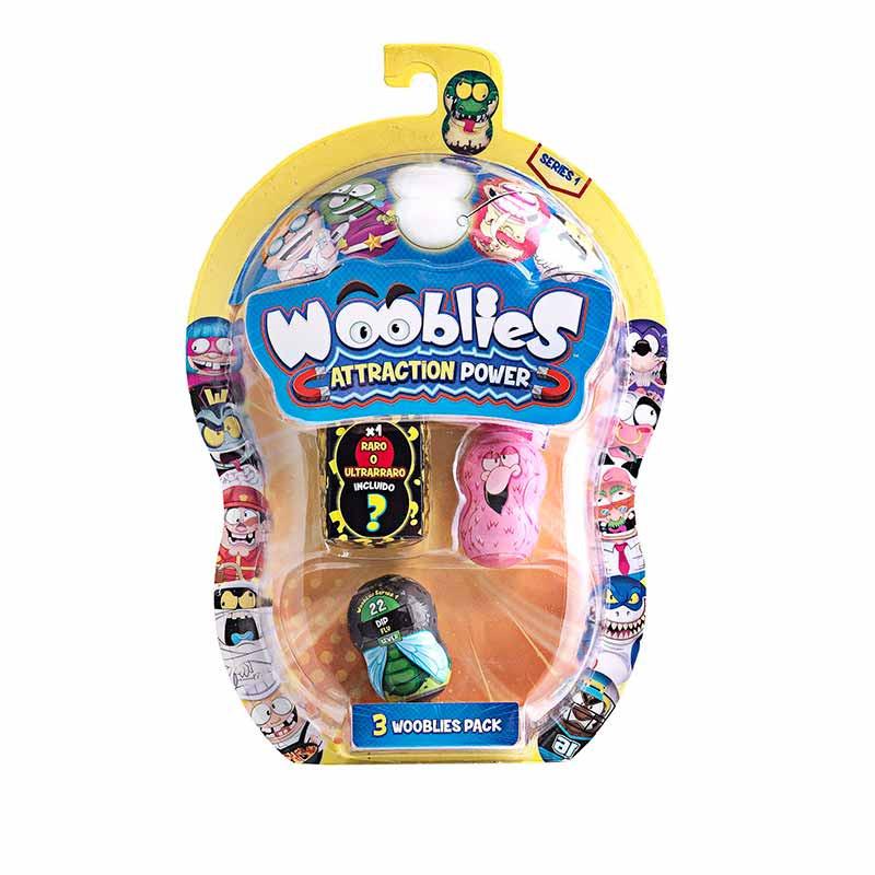 Wooblies 2 Figuras Coleccionáveis + 1 Figura Ultra