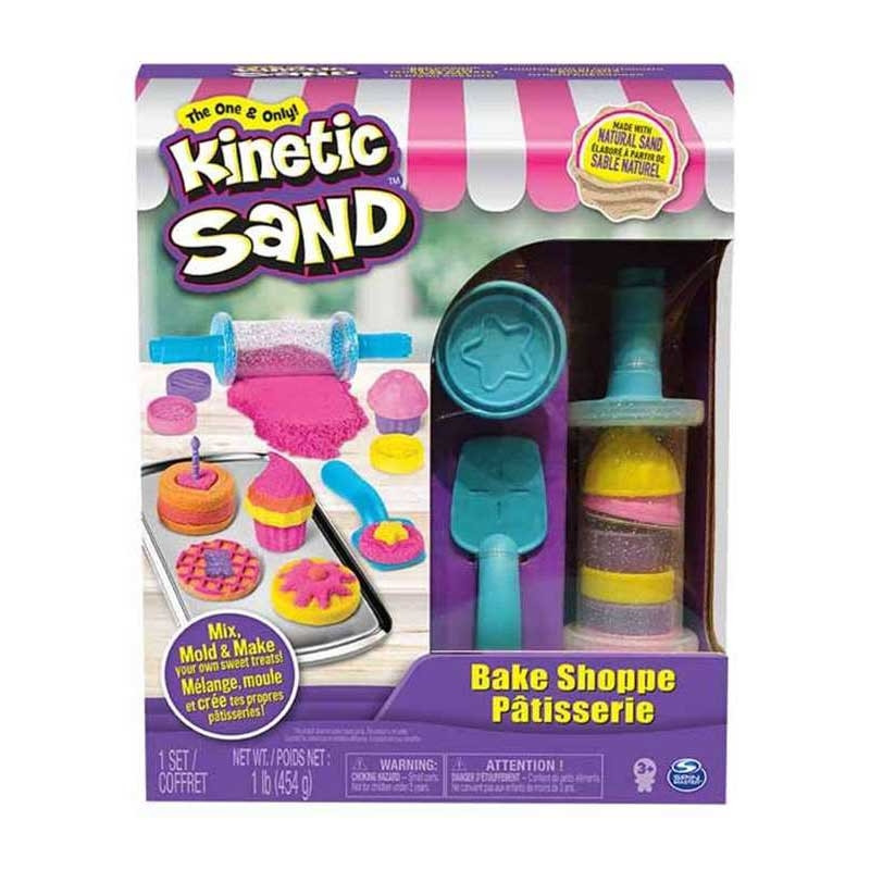 Kinetic sand pastelaria