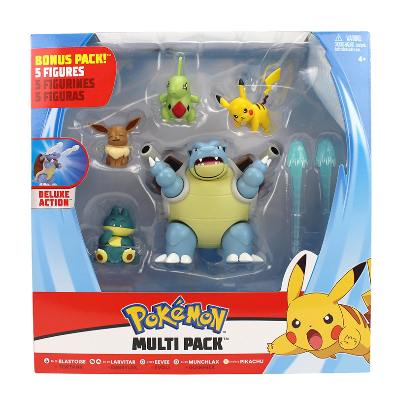 Pokemon fig combate pack 5