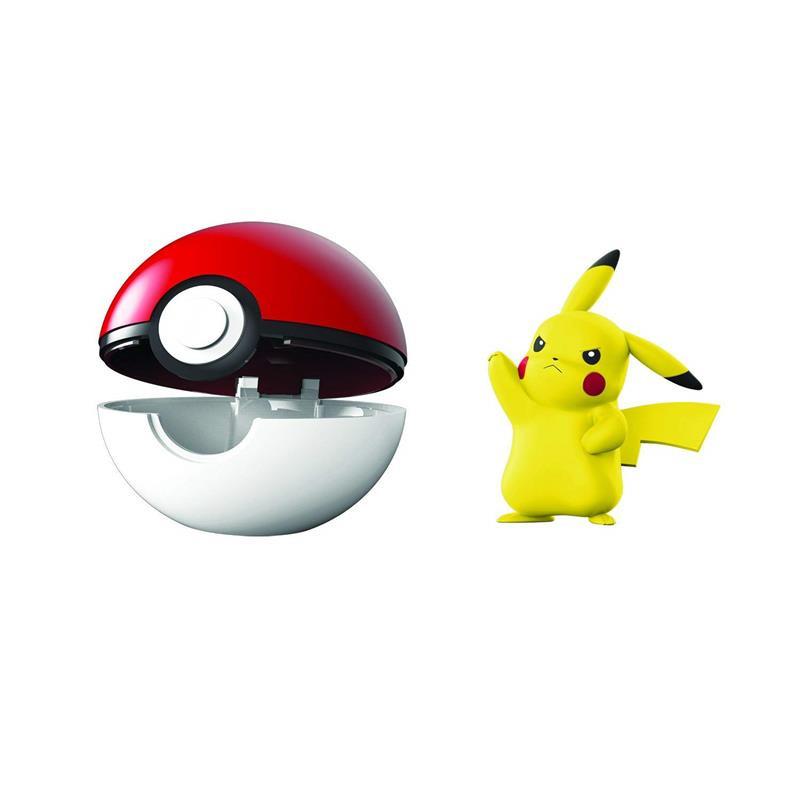 Pokemon Clip n goPikachu + poke ball