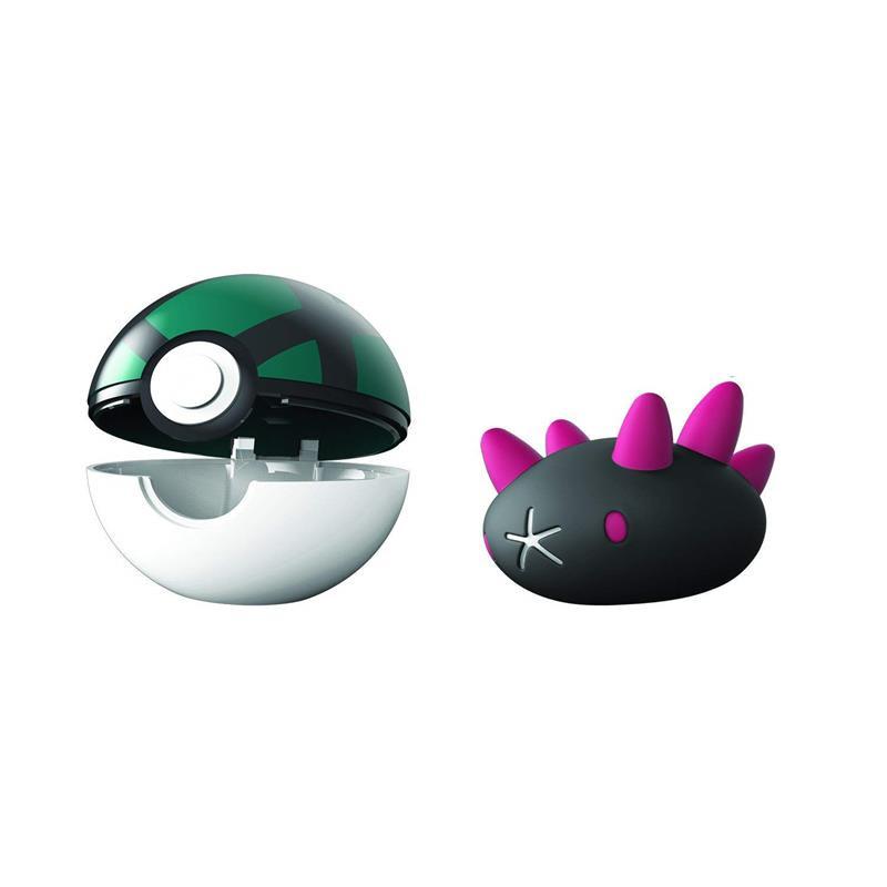 Pokemon Clip n goPyukumuky + malla ball