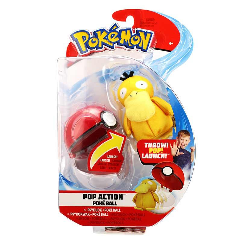 Pokemon Lança e Ataca Psyduck