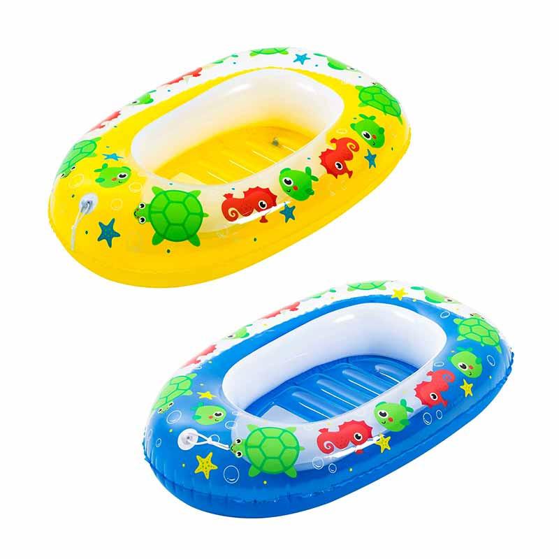 Barco Kiddie Raft 102x69 cm 3-6 Anos