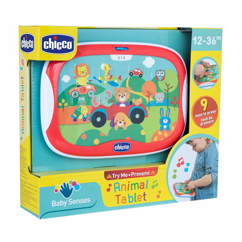 Chicco tablet animais