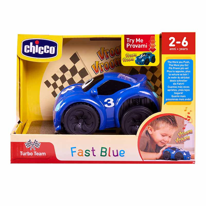 Chicco Turbo touch fastblue