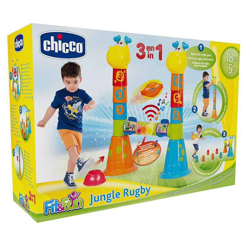 Chicco Jungle Rugby 3 em 1