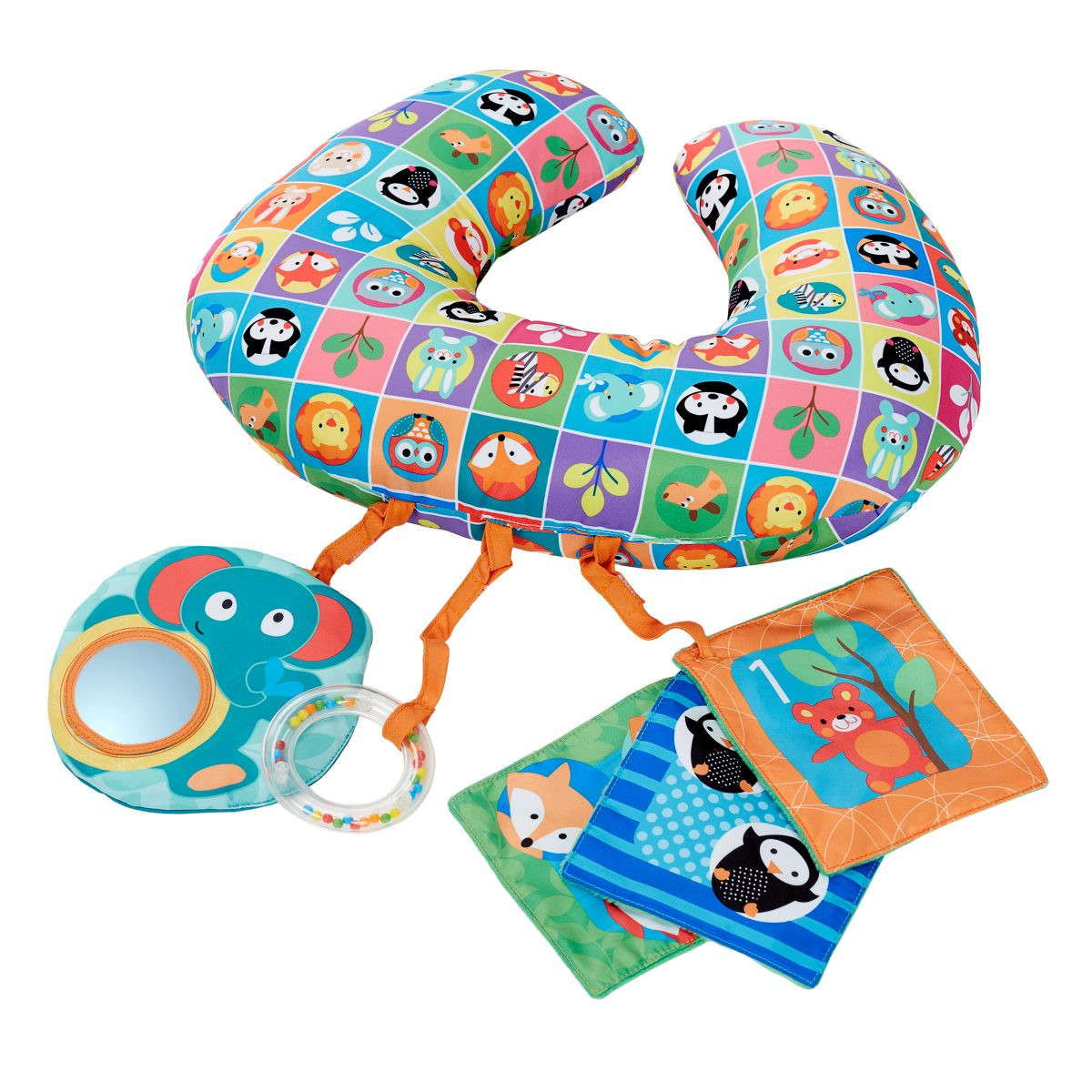 Chicco Tummy Time almofada Boppy