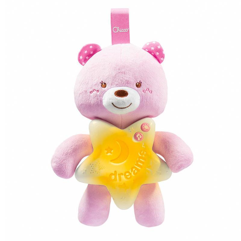Chicco painel berço ursinho boas noites rosa