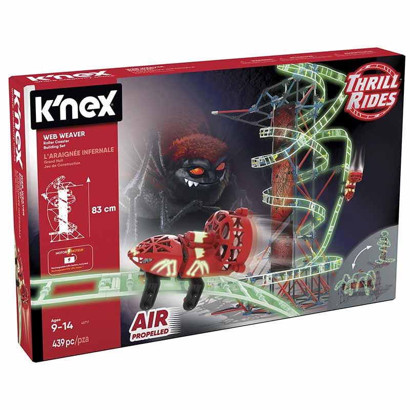 Knex Thrill Rides montanha russa 399 peças