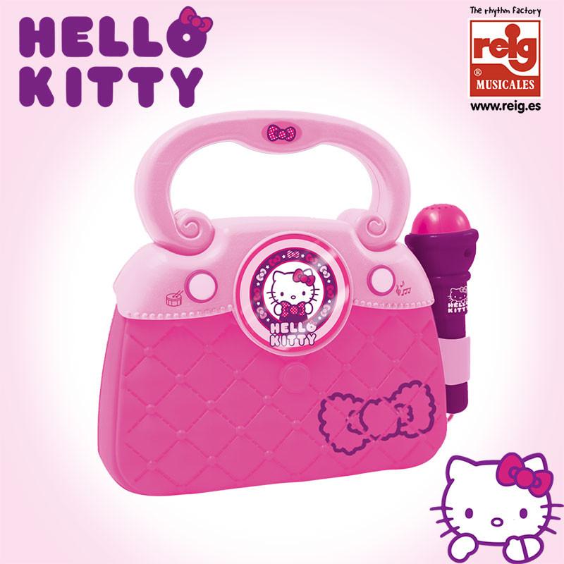 Bolsa com microfone Hello Kitty