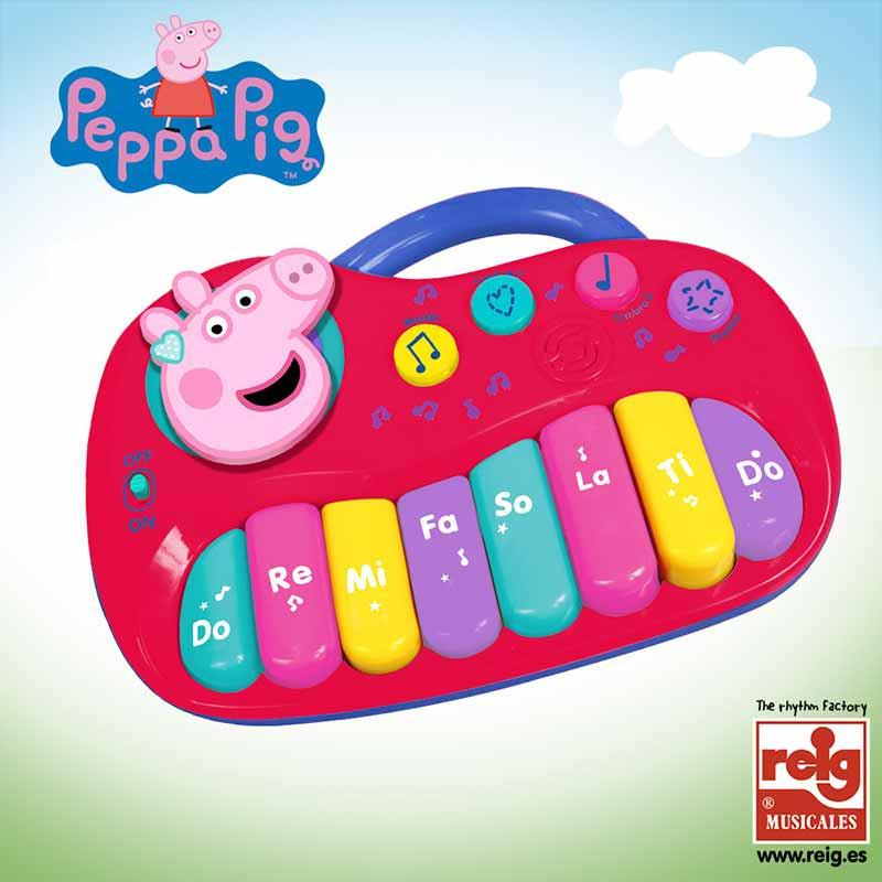 Orgão electrónico Peppa Pig 25 teclas