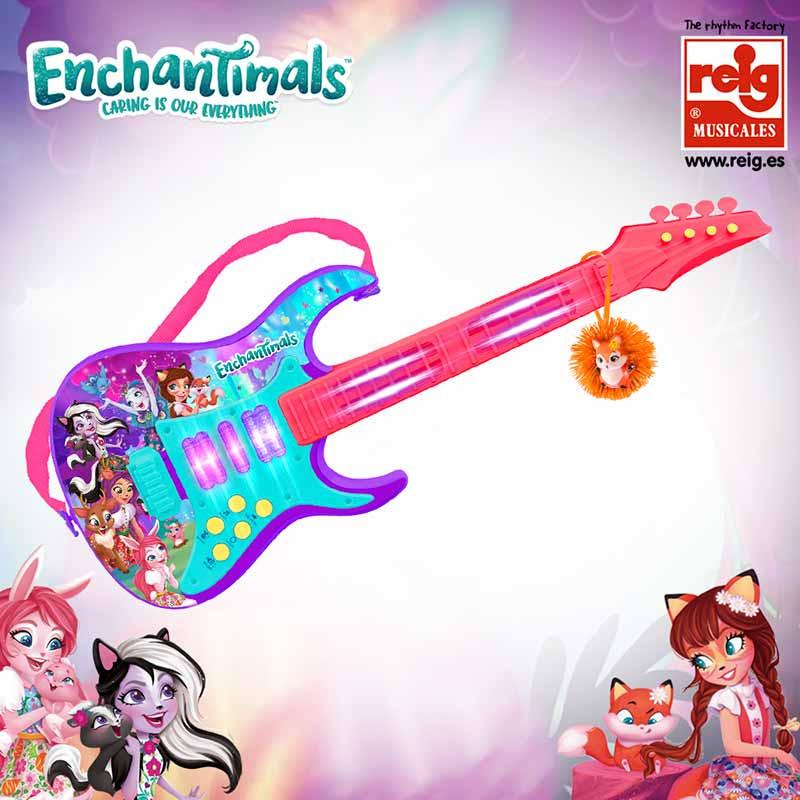 Guitarra electrónica Enchantimals