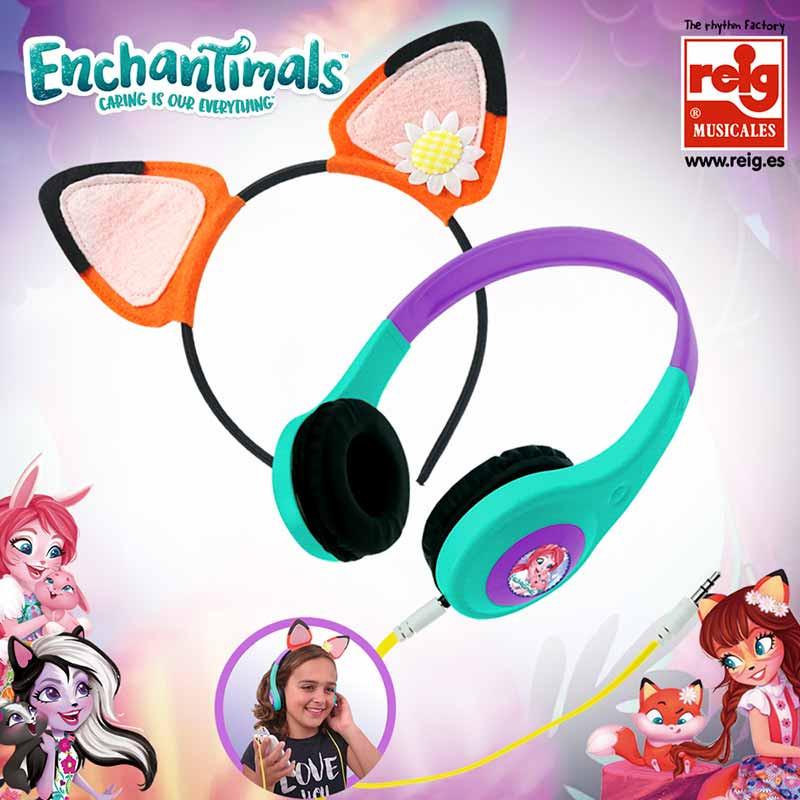 Auriculares Enchantimals