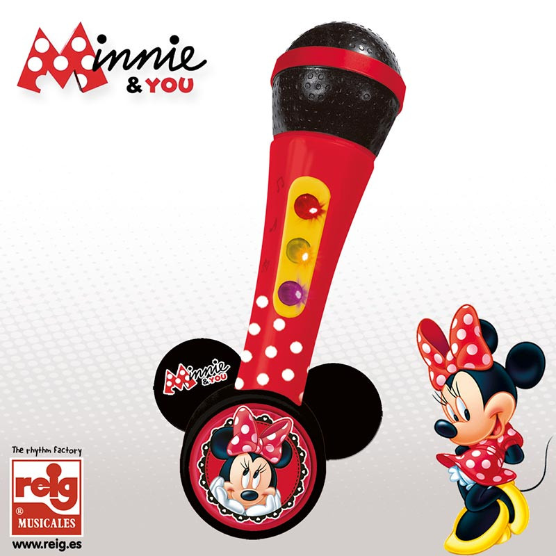 Microfone de mão Minnie Rhythm & Amplifier