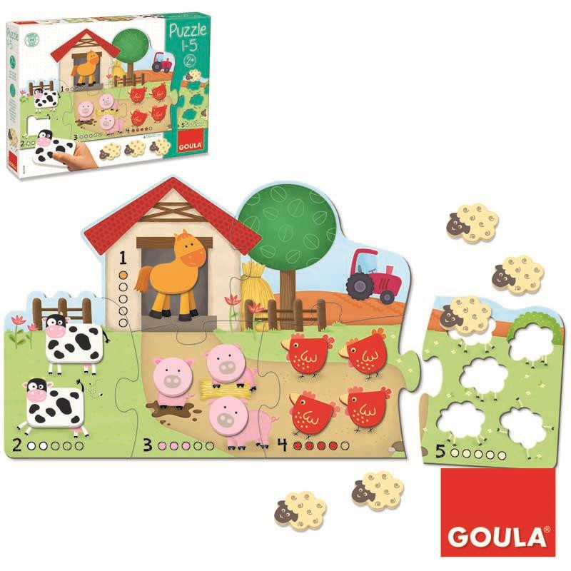 Puzzle de madeira Quinta