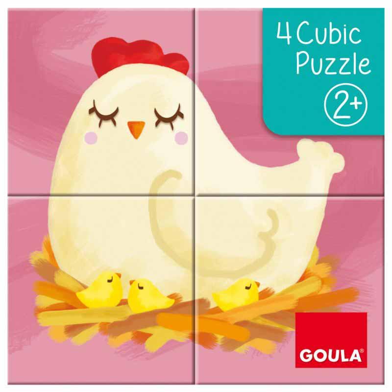 4 Cubic Puzzle