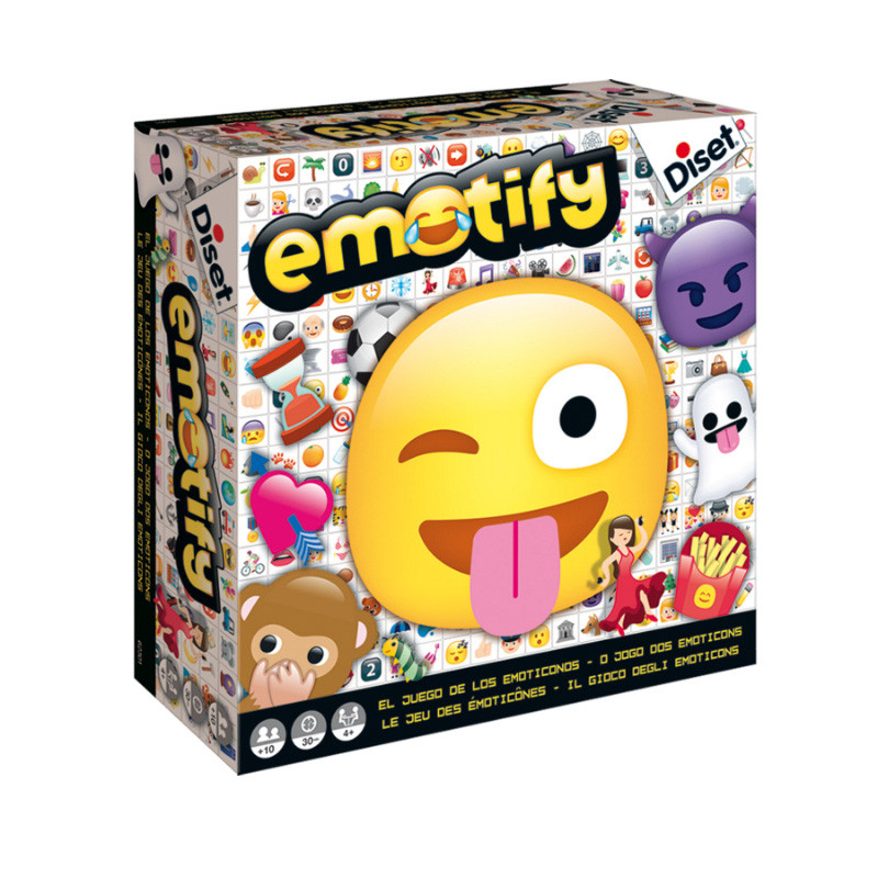 Emotify jogo de mesa