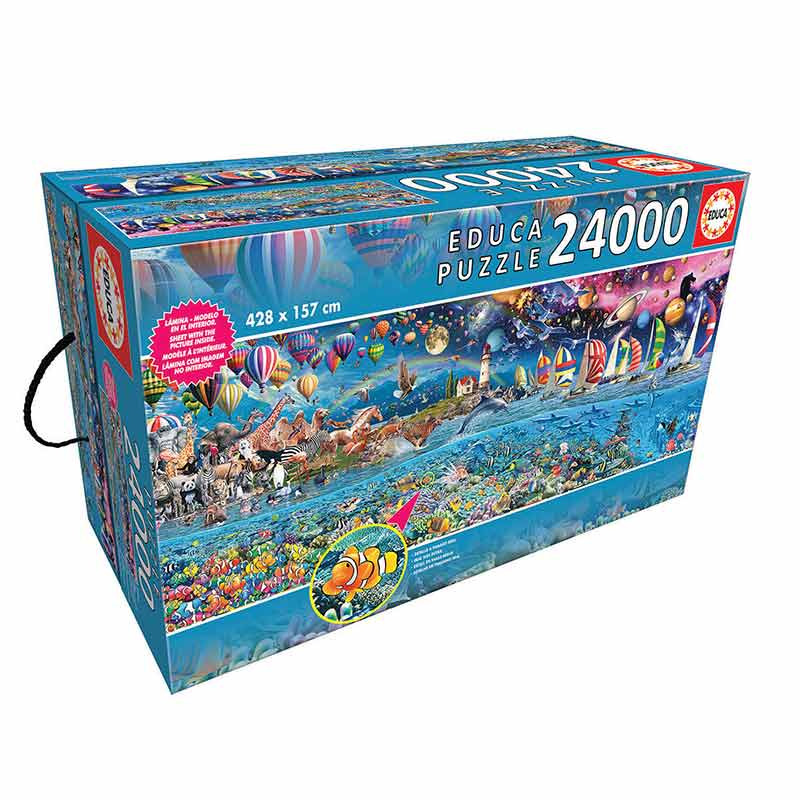 24000 A vida, o maior Puzzle