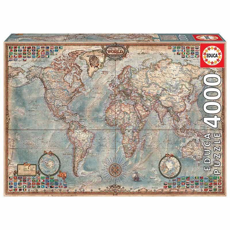 4000 Mapamundi