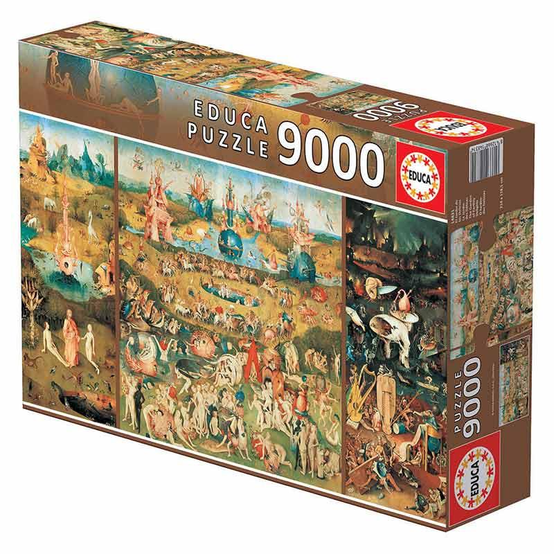 9000 O jardím das delícias