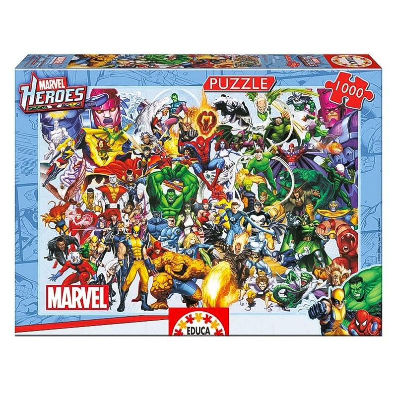 Educa puzzle Os heróis da Marvel