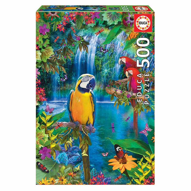 Educa puzzle 500 paraíso tropical