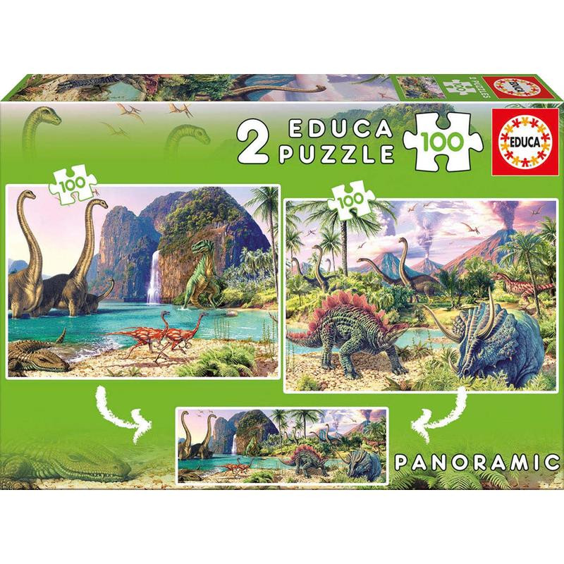 Educa puzzle Dino world