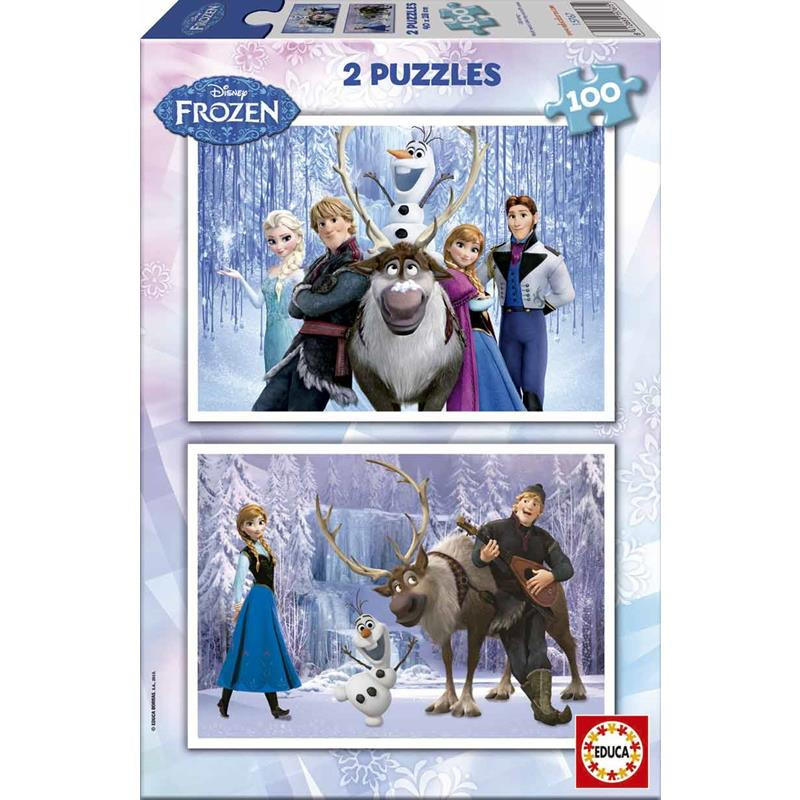 Educa puzzle Frozen