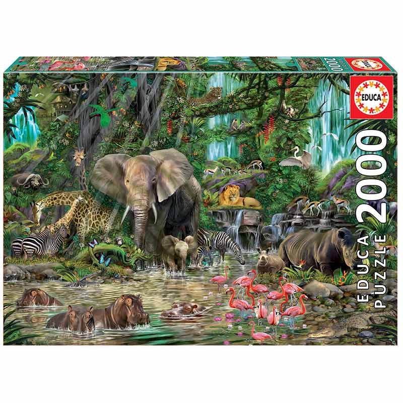 2000 Selva africana