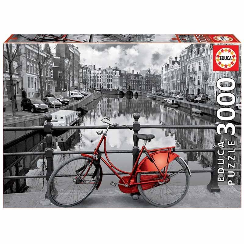 Educa puzzle 3000 Amsterdão