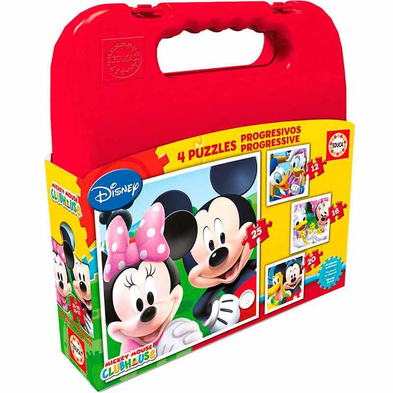 Educa puzzle mala progressivos Mickey