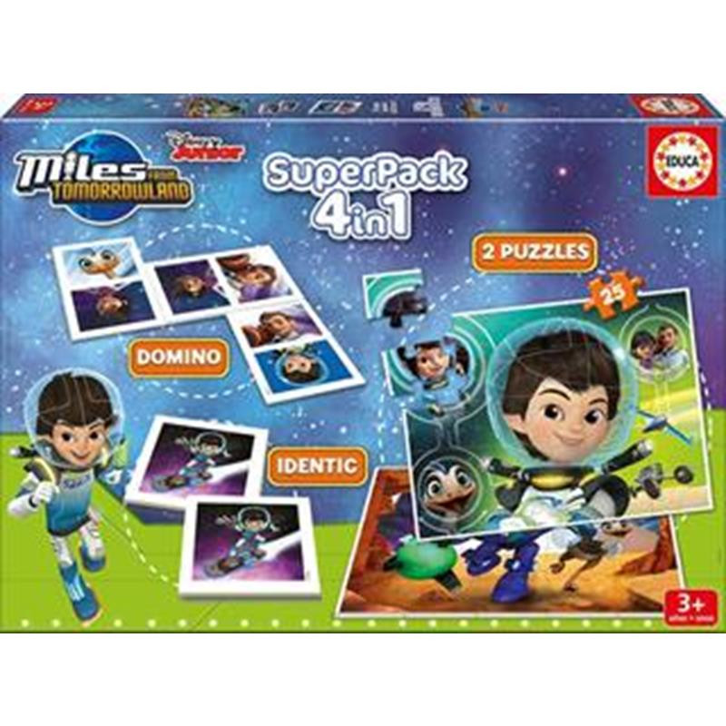 Educa Super pack jogos Miles do futuro