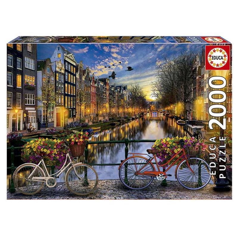 Educa puzzle Amsterdão