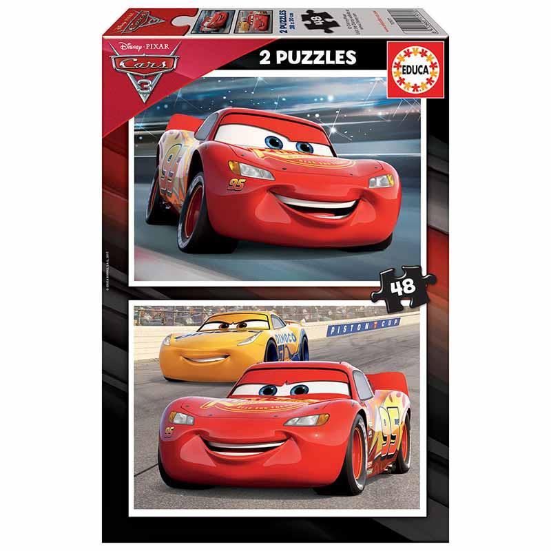 Educa puzzle 2x48 Cars 3
