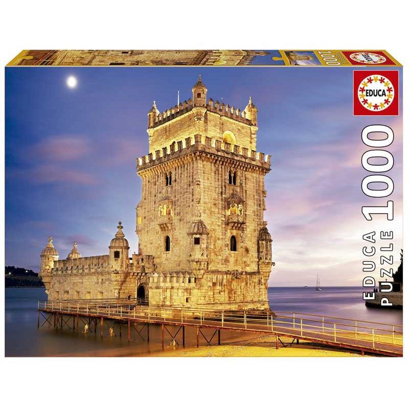 Educa puzzle torre de Belém, Lisboa