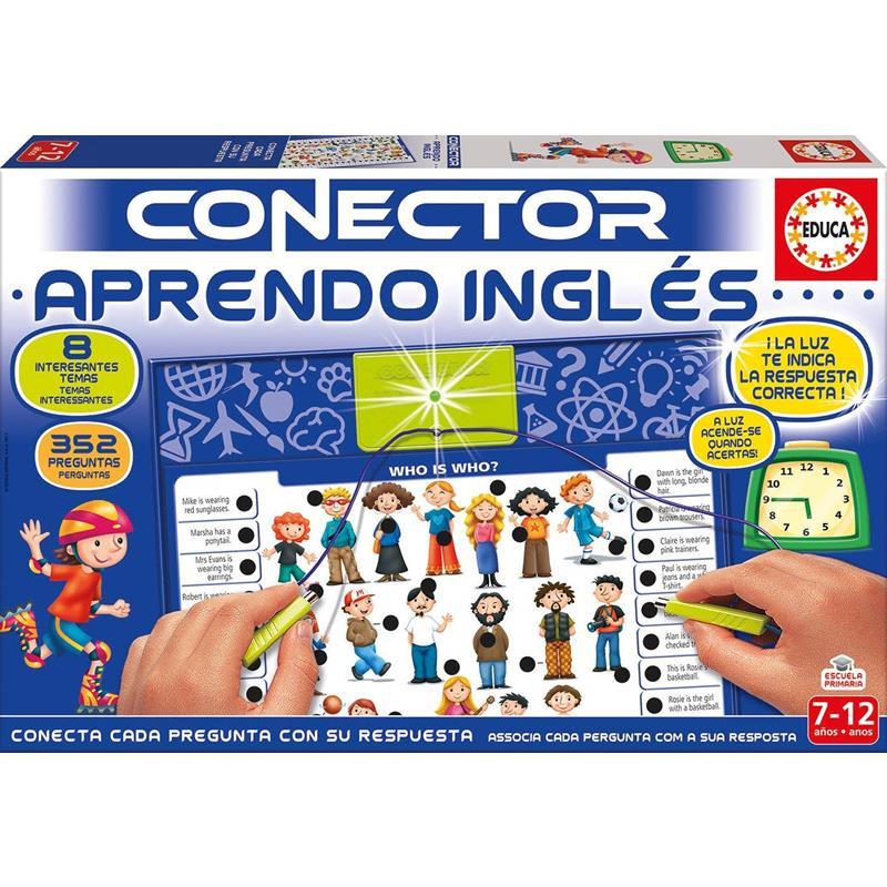 Educa conector aprendo inglês