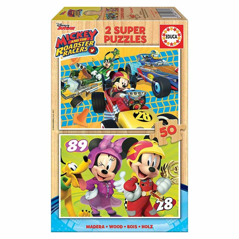 Educa puzzle 2x50 Mickey e os Superpilotos