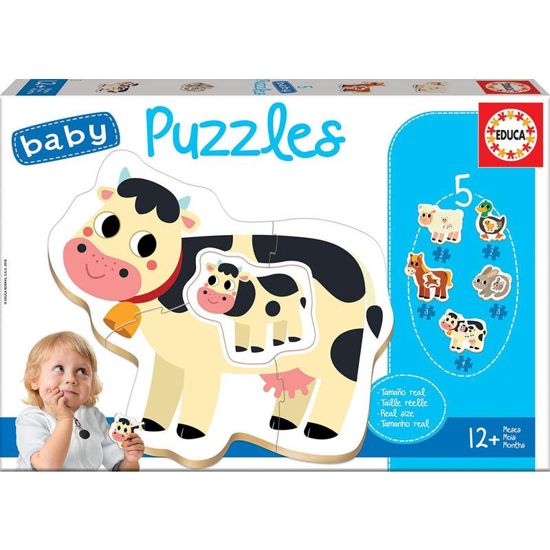 Baby Puzzle Animales Quinta