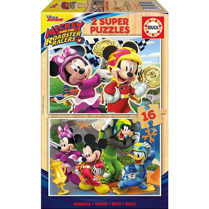 Educa puzzle madeira 2x16 Mickey e os superpilotos