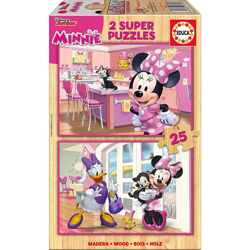 Educa puzzles Minnie ajudantes felizes