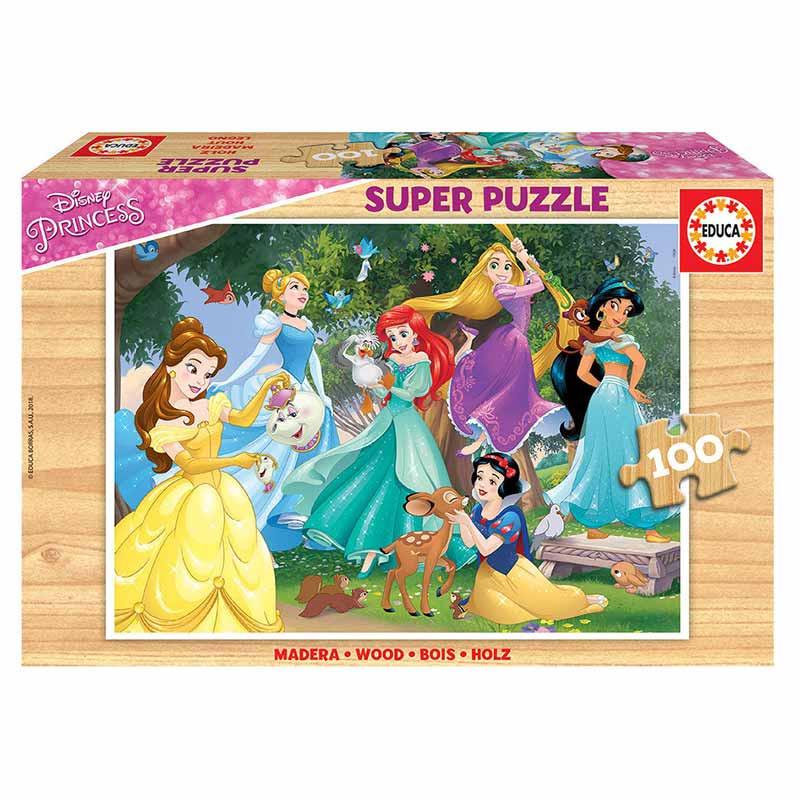 Educa puzzle 100 Princesas da Disney