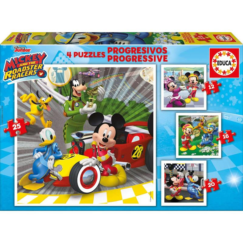 Puzzles Progressivos Mickey e os Superpilotos